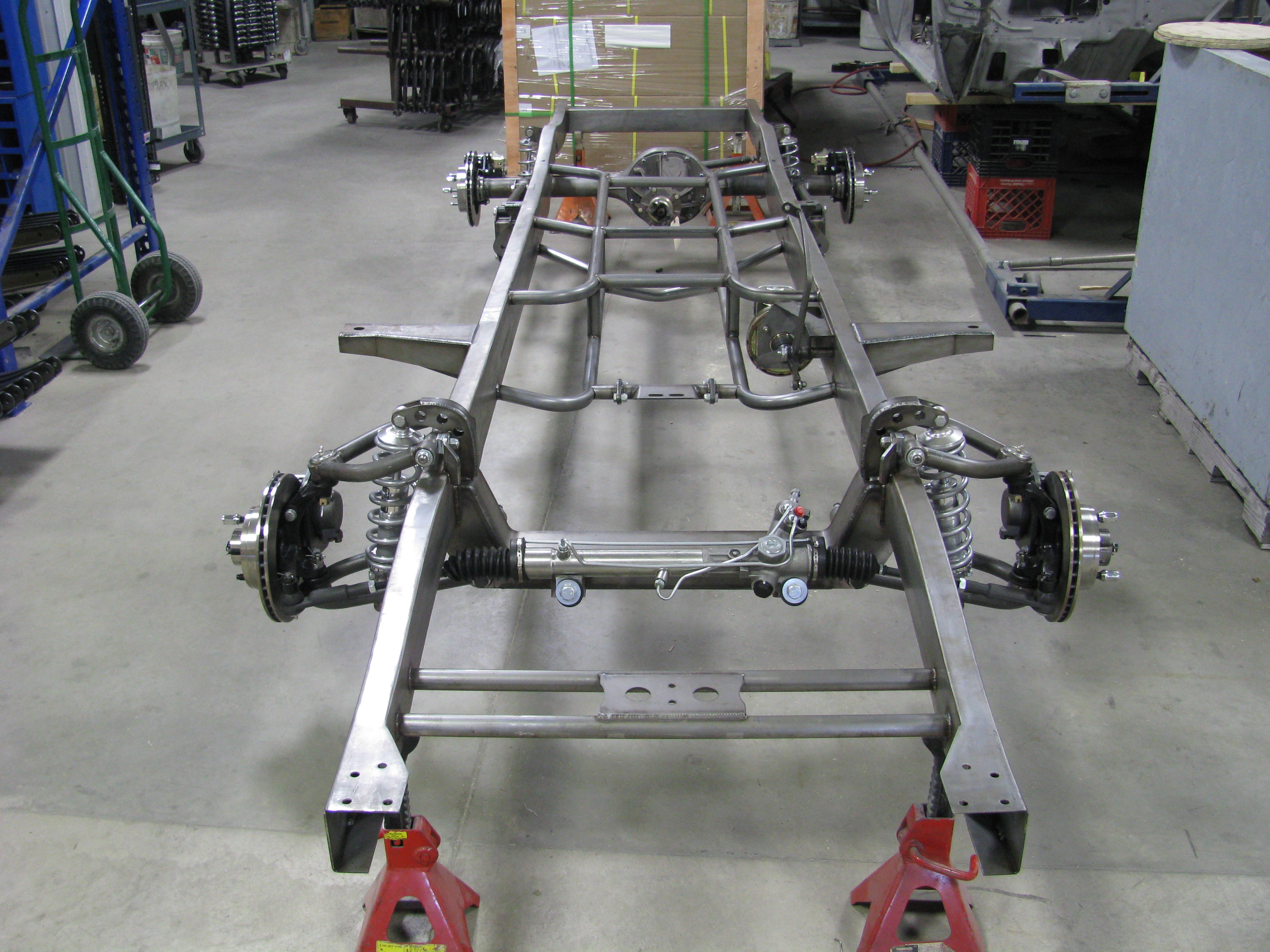 1954 Ford F100 truck chassis - Cruisin Automotive
